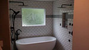 bathroom remodel/wet room